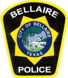 Bellaire Texas police department shoulder patch