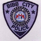 Bibb city police department shoulder patch