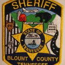 Blount county sheriffs tennessee police department shoulder patch