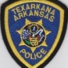 Texarkana Arkansas Police Department shoulder patch