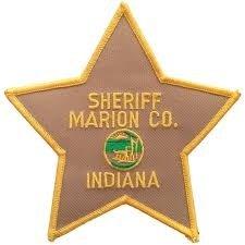 Marion County Indian Sheriffs Department uniform Police shoulder patch