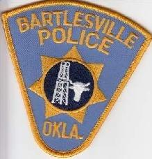 Bartlesville Oklahoma Police Department uniform shoulder patch