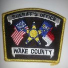 Wake County North Carolina Sheriffs Department uniform shoulder patch