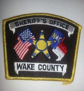 Wake County North Carolina Sheriffs Department uniform shoulder patch