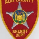 Ada County Oregon Sheriffs Police uniform shoulder patch