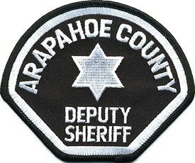Arapahoe County Colorado Deputy Sheriff sheriffs Police uniform shoulder patch