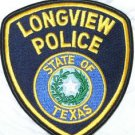 Longview Police Department State of Texas uniform police shoulder patch