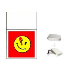 smily with bullet hole Flip Top Lighter