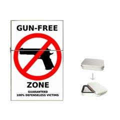 gun-free-zone Flip Top Lighter