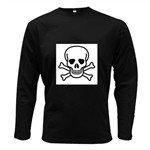 Jolly Roger Long Sleeve Dark T-Shirt
