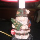 COLLECTIBLE CHRISTMAS SANTA LAMP! NEW!