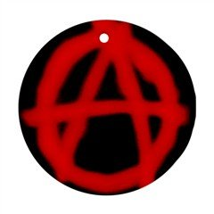 Anarchy 016 Ornament (Round)