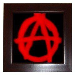 Anarchy 016 Framed Tile