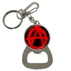 Anarchy 016 Bottle Opener Key Chain