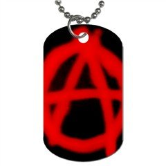 Anarchy 016 Dog Tag (Two Sides)