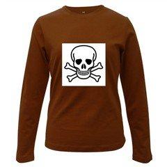 Jolly Roger Women's Long Sleeve Dark T-Shirt