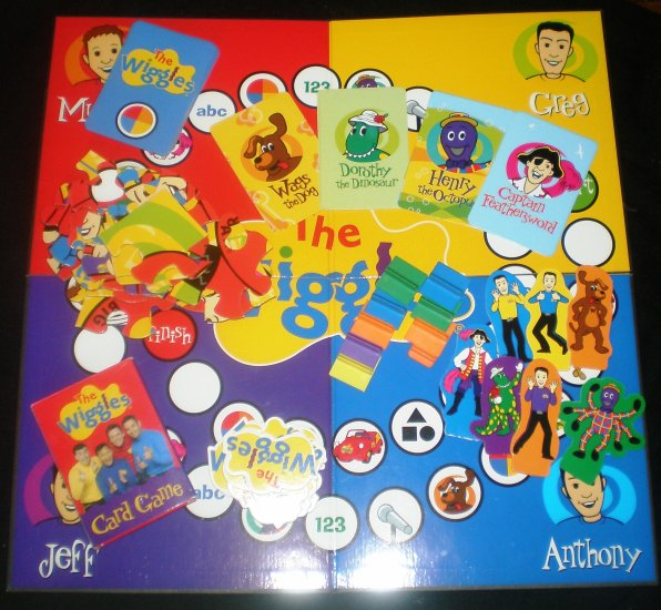 Wiggles, WIGGLY FUN, The Wiggles, game, puzzle, cards