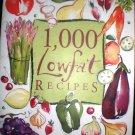 1,000 LOWFAT Recipes, cook book, Healthy, cooking, diet