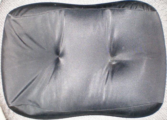 "HoMedic, Massage Pillow, 14"" x 11"", Black New, Great"