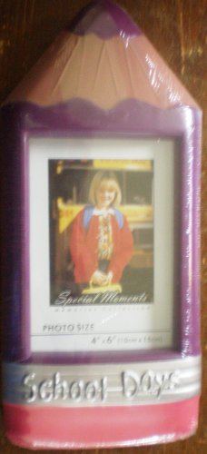 School Days Picture Frame, Purple, Pink, New, Cute !!!!