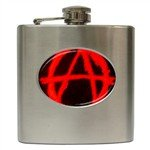 Anarchy Hip Flask (6 oz)