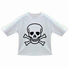 Jolly Roger Infant/Toddler T-Shirt, punk, goth, rock