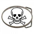 Jolly Roger Belt Buckle, punk, rock, goth
