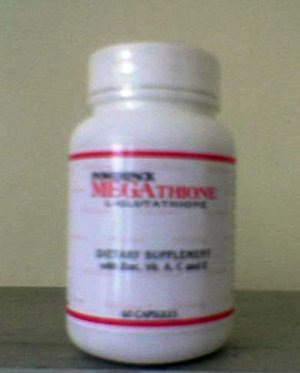 Powerpack Megathione L-Glutathione 60 capsules