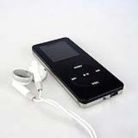 Digital MP4 player 2GB Black