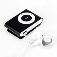 MP3 player 1GB (3.5mm) Black KIT JUST LIKE IPOD