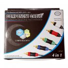 4-in-1 All-Console Component Video Cable for Wii / PS3 / XBox