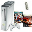 Xbox 360 Premium Console W/ Hdmi Media Bundle - 2 Games And Media Remote