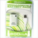 3600mAh Rechargeable Battery Pack for Xbox 360 Controllers