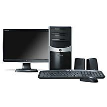 "eMachines W5243 Desktop PC w/ 17"" Widescreen LCD Monitor"