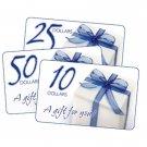 $50.00 E-  Gift Card