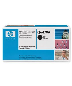 HP Q6470A Black Toner Cartridge    **SALE ITEM