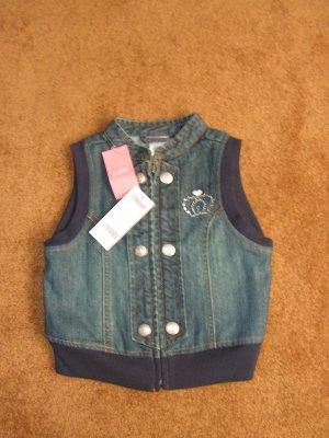Girls toddler Gymboree denim rhinestone top vest size 4