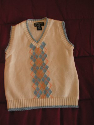 Boys toddlers The Children's Place  vest SZ 18 months