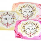 LOLLIA Believe Shea Butter Gift Soaps - Set of 3