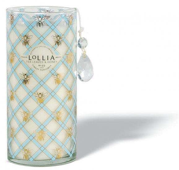 LOLLIA Wish Tea Leaves & Honey Tall Perfumed Luminary