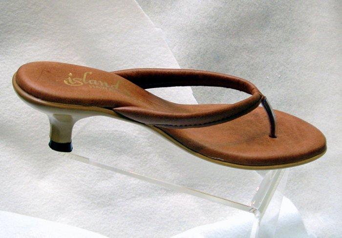 Island Slipper Women's X912 Sandal - COGNAC