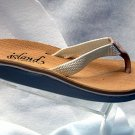 Island Slipper Women's DX111 Sandal - WHITE