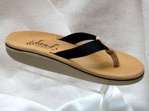 Island Slipper Women's DX111 Sandal - BLACK