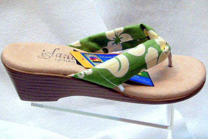 Island Slipper Women's T383 Sandal - TROPICAL OLIVE