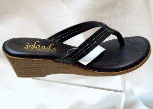 Island Slipper Women's T922 Sandal - BLACK