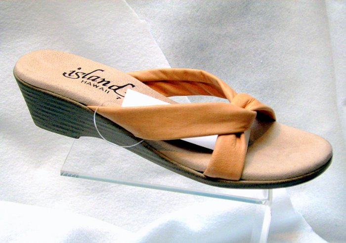 Island Slipper Women's TLANA Sandal - TAN