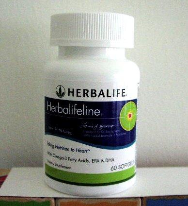 Herbalife Herbalifeline with Omega-3 2005 New & Improved