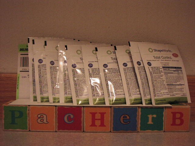 Herbalife Total Control ShapeWorks 30 Sample Packets Fresh