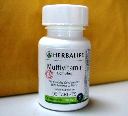 Herbalife F2 Multivitamin Complex Vitamin Vitamins Formula 2 ShapeWorks 2007
