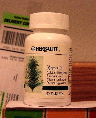 Herbalife Xtra-Cal XtraCal, Calcium Vitamins 2004